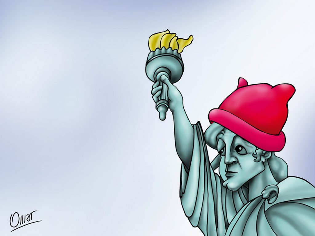 Pussycap Lady Liberty