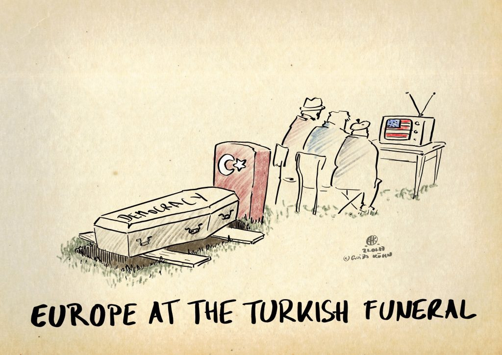 Europe at the Turkish Funeral