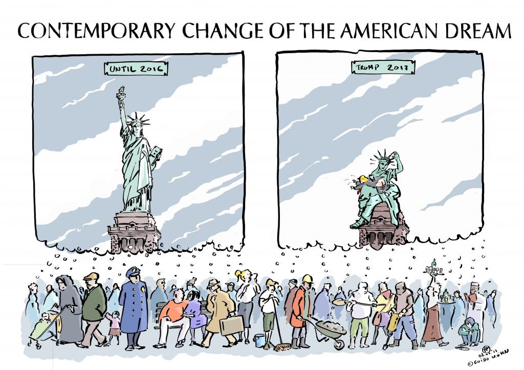 Contemporary Change of the American Dream